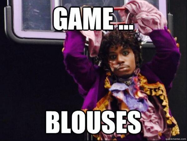 Game, Blouses logo